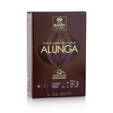 Purity Nature Alunga, Vollmilch Schokolade, Callets, 41% Kakao,  1 kg