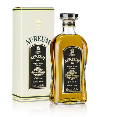 Aureum 1865, Single Malt Whisky, Grave Digger, 6 Jahre, 43% vol., Ziegler,  700 ml