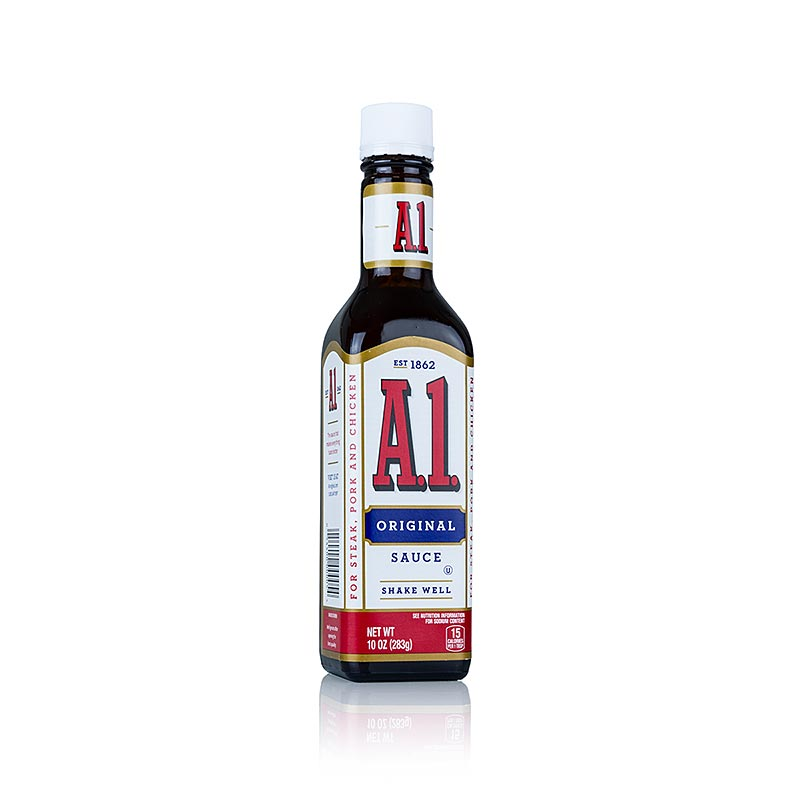 Steak-Sauce A1,  296 ml - Saucen, Suppen, Fonds - Würz- und Grillsaucen - thungourmet