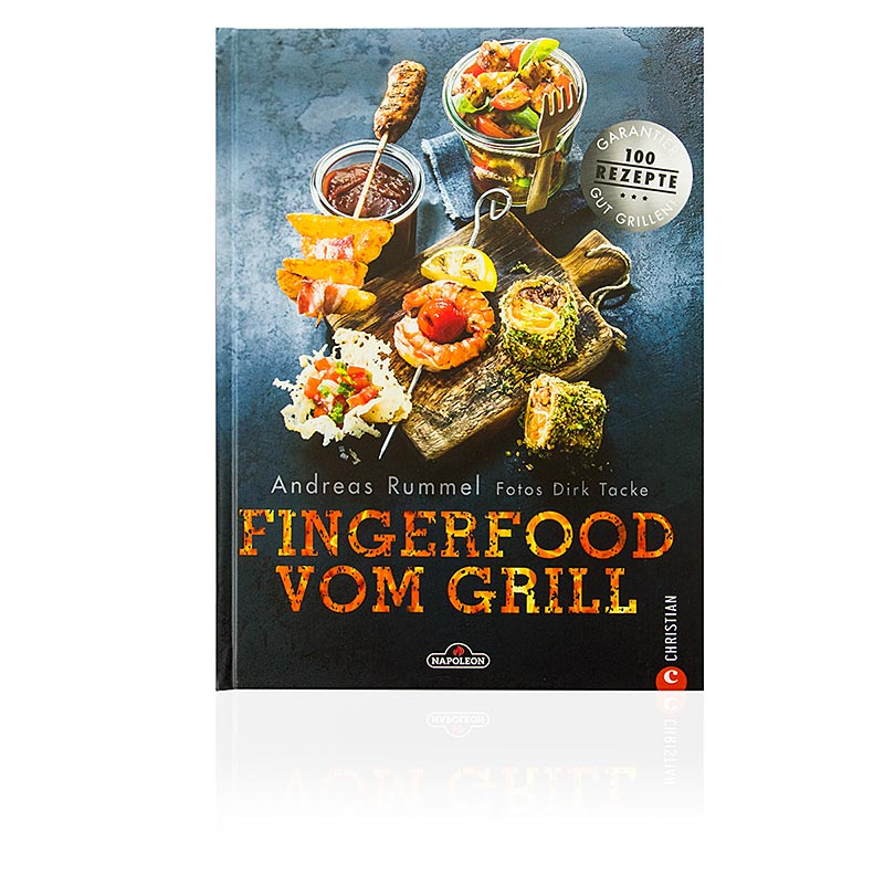 Fingerfood vom Grill, Buch, Andreas Rummel, Dirk Tacke, Napoleon,  1 St - Non Food / Hardware / Grillzubehör - Printmedien - thungourmet