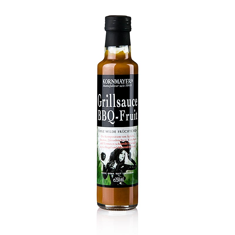 Kornmayer - BBQ - Fruit Grillsauce,  250 ml - Saucen, Suppen, Fonds - Würz- und Grillsaucen - thungourmet