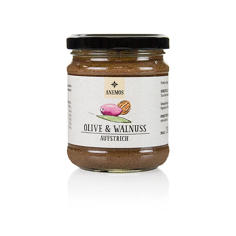 Oliven- Walnuß Tapenade, ANEMOS,  200 g