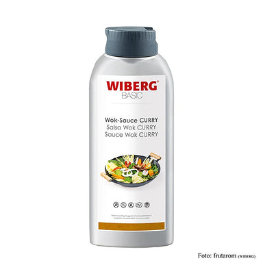 WIBERG BASIC Wok Sauce Curry, Squeezeflasche,  665 ml - Saucen, Suppen, Fonds - WIBERG - thungourmet