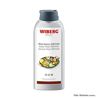 WIBERG BASIC Wok Sauce Teriayki, Squeezeflasche,  652 ml - Saucen, Suppen, Fonds - WIBERG - thungourmet