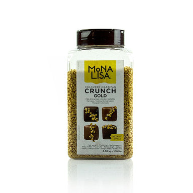 Marzipan Crunch - Gold, Mona Lisa,  500 g