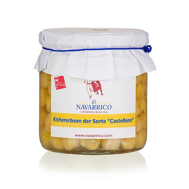 "Kichererbsen ""Castellano"", in Lake, Navarrico,  325 g"