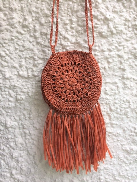 Street Fair Boho Purse : crochet purse