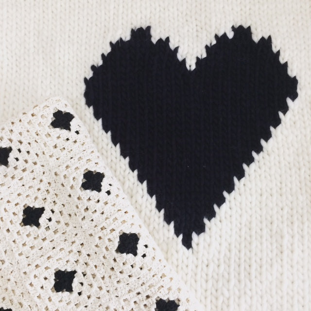 The Heart Baby Blanket