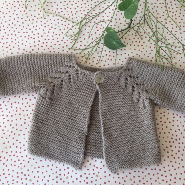 Norwegian Fir Cardigan by OGE Knitwear Designs