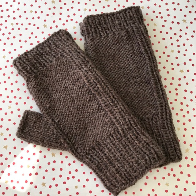 Maize Fingerless Gloves