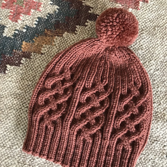 Mashup cable beanie