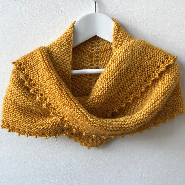 Simple Shawl by Jane Hunter
