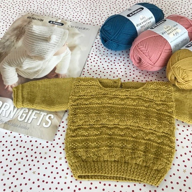Guernsey Jumper for baby
