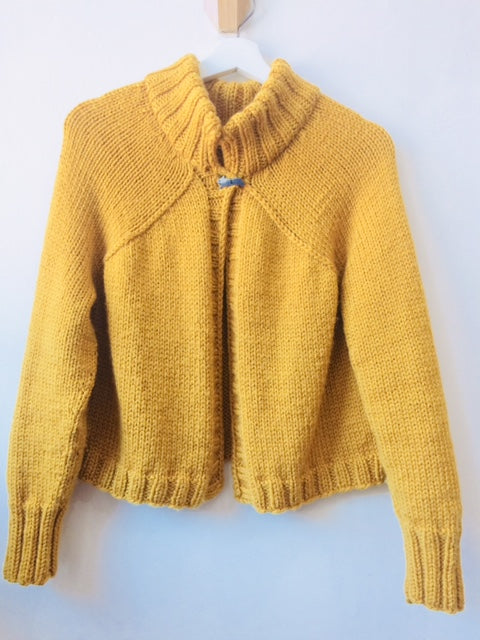 Carbeth : chunky knit cardigan