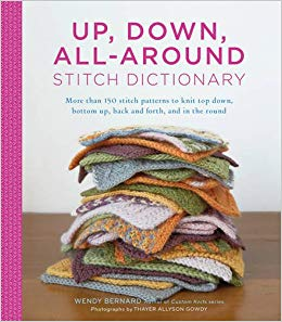 Book: Up, Down, All-Around Stitch Dictionary by Wendy Bernard
