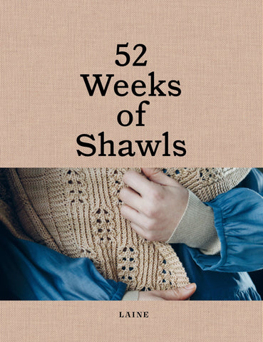 Book : 52 Weeks of Shawls (pre-order available 30th April)