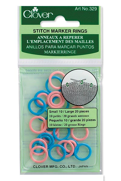Clover Knitting Ring Markers