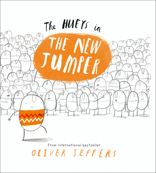 Book: The Hueys - The New Jumper