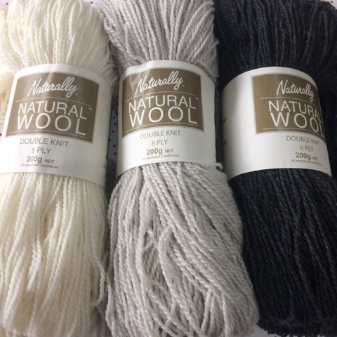 Naturally Yarns Natural Hanks