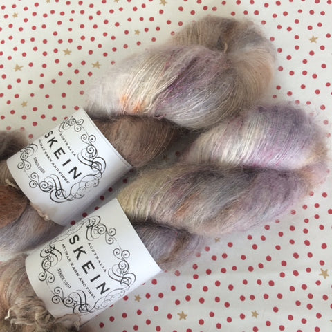 Skein Mohair Silk Lace