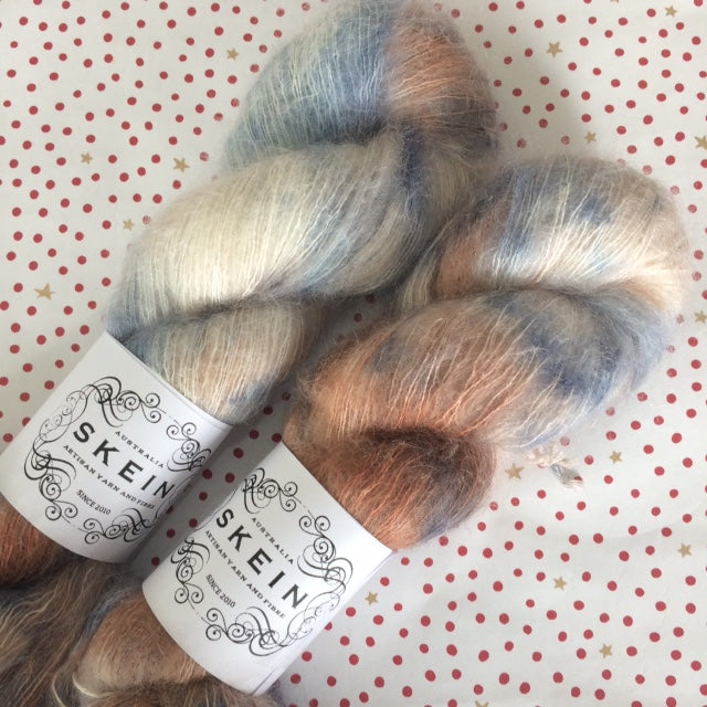 Skein : Mohair Silk Lace