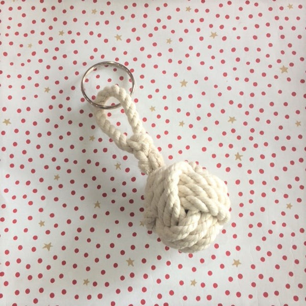 Ropework Monkey Fist Key Ring
