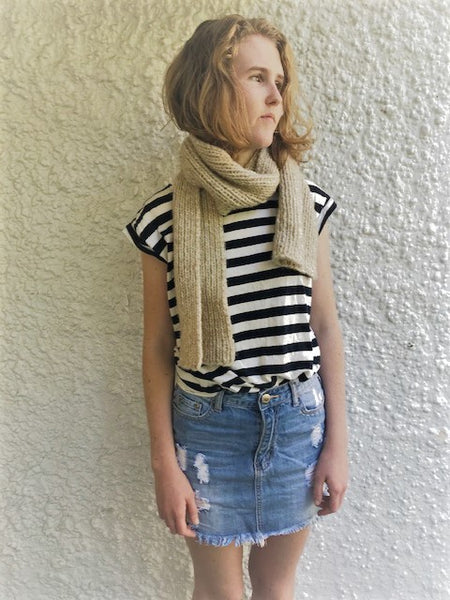 Kit : Cast Away Classic Seafarer's Scarf