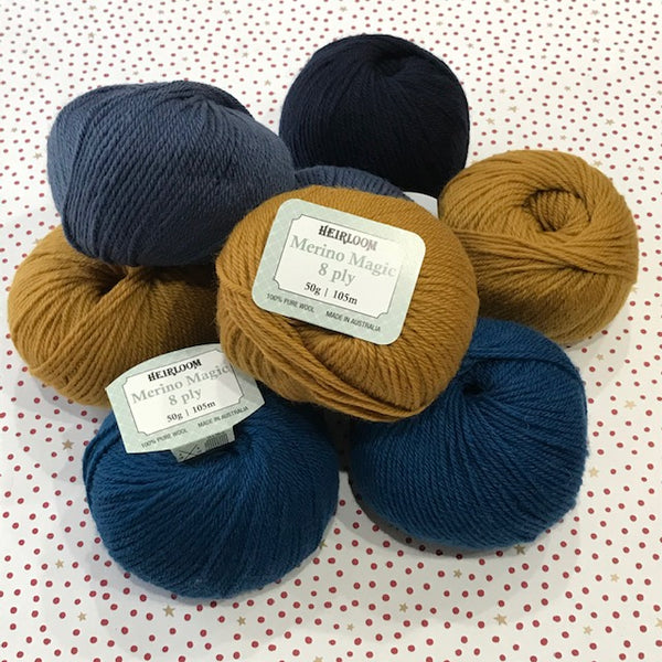 Heirloom : Merino Magic DK