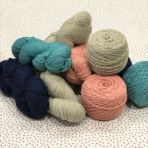 Cast off Collective : Hand Dyed Skeins