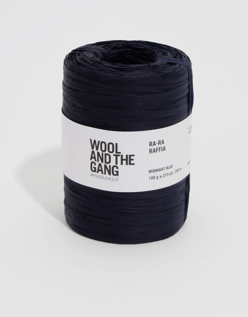 Ra-Ra Raffia - Midnight Blue