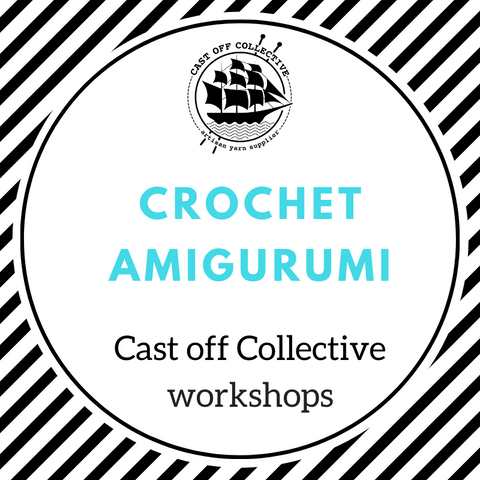Workshop: Crochet AMIGURUMI - INTERMEDIATE (3 hours)