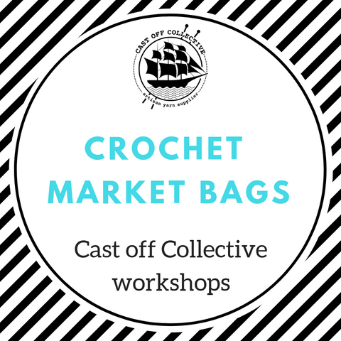 Workshop: Crochet Market Bags (2.5 hours)