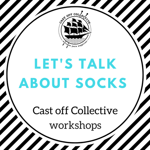 Workshop: Knit SOCKS - ADVANCED techniques (3 hours)