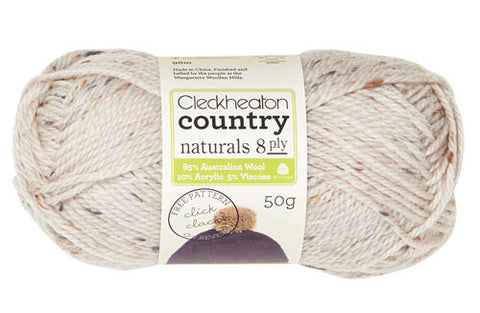 Cleckheaton Country Naturals 8ply