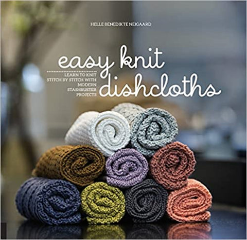 Book : Easy Knit Dishcloths by Helle Benedikte Neigaard