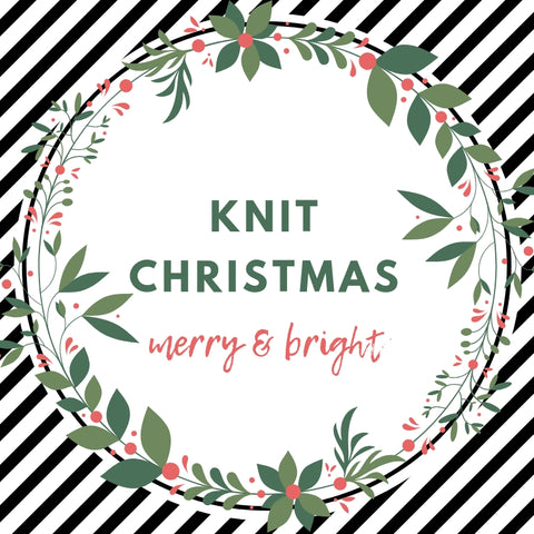 Christmas Knit Workshop (2.5 hours)