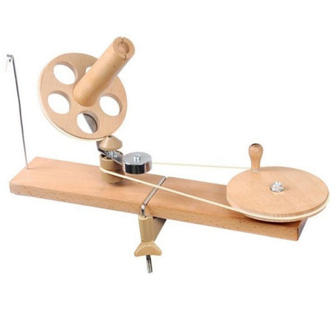 KnitPro Ball Winder - Natural Birch Wood