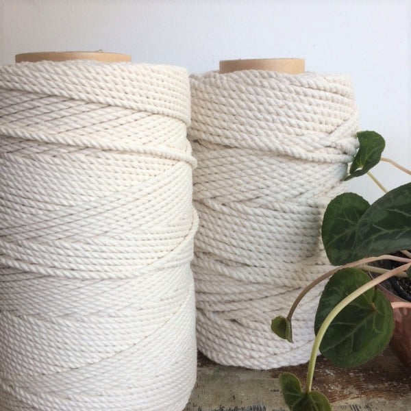 Macrame Rope Cotton Undyed 1KG