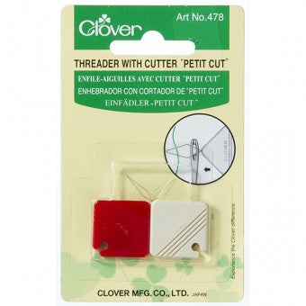 Clover Petit Needle Threader and Cutter