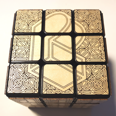 Pretty Lights Block Logo Cube