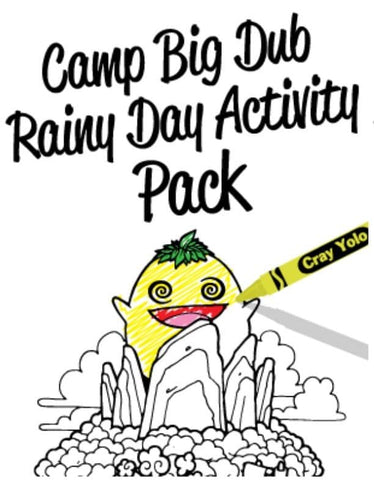 Camp Big Dub Rainy Day Activity Pack
