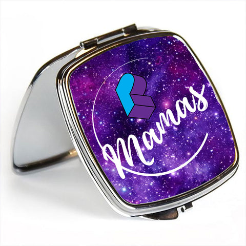 Pretty Lights Mama's Moon Galaxy Mirror Compact