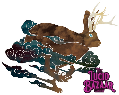 Sticker - Jackalope