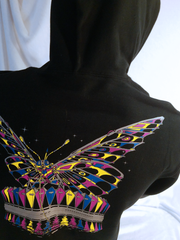 Hoodie- Wind-Up Monarch- PULLOVER