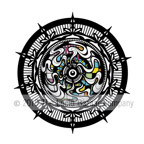 Sticker- Mandala Bass