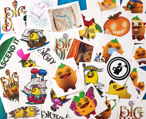 Big Dub Great Big Mega Large Sticker Pack