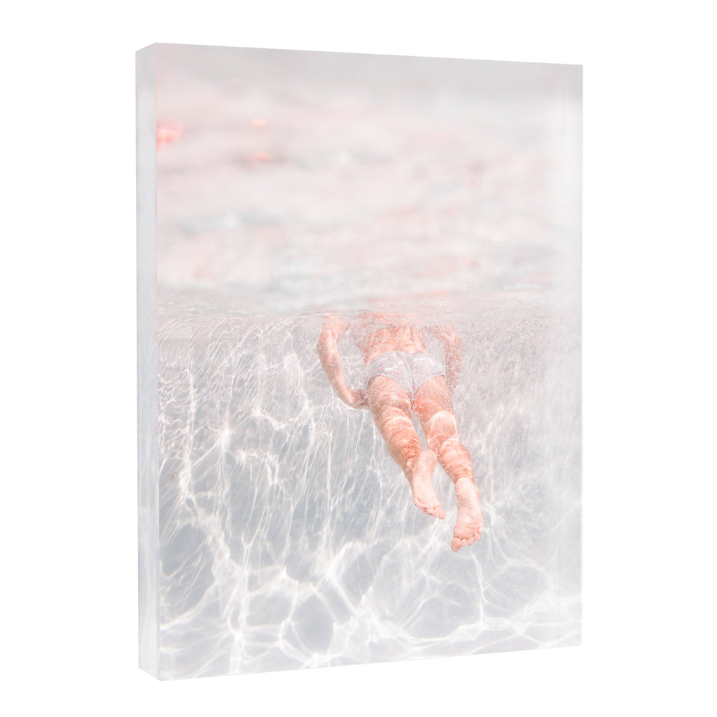 Acrylic Block : Swimmer