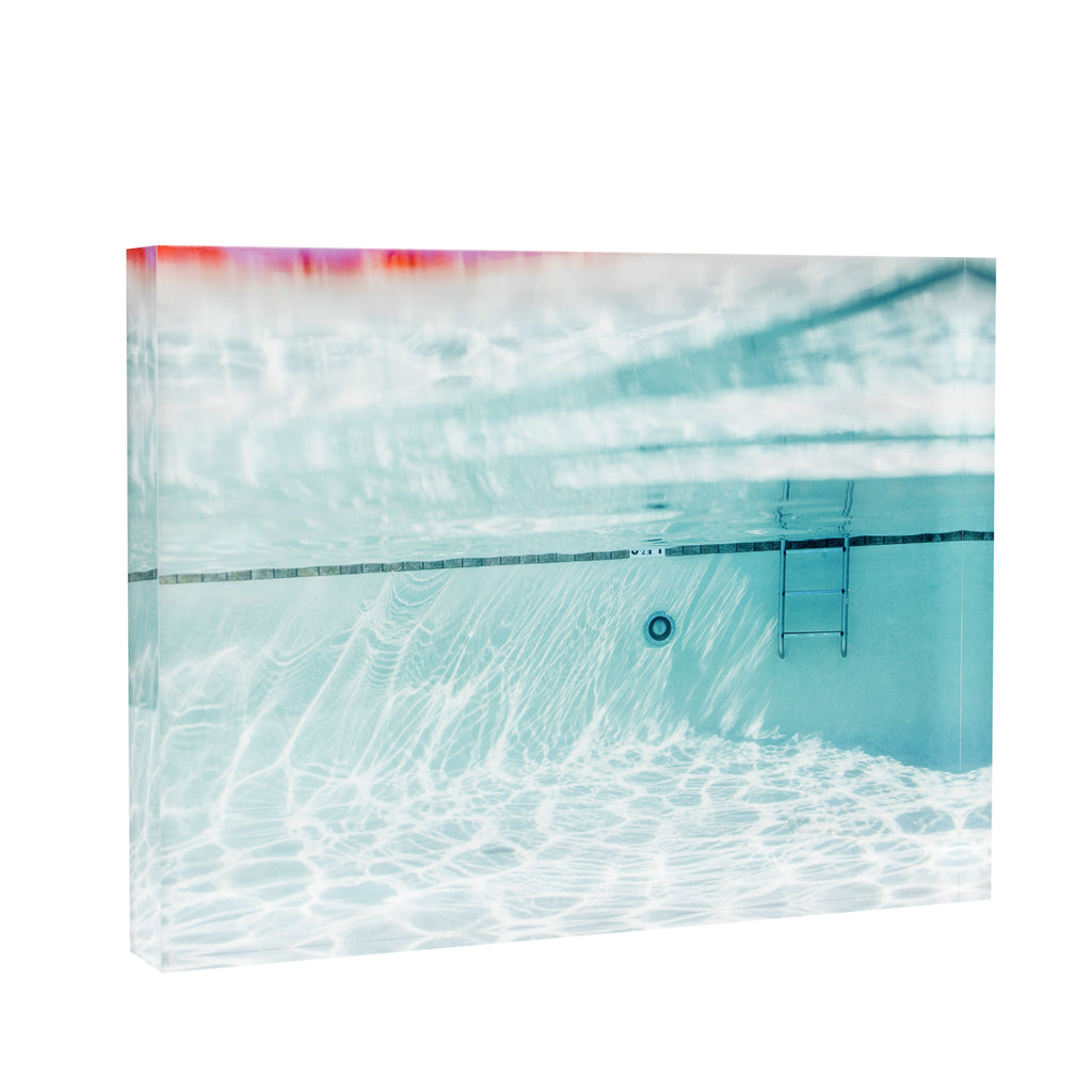 Acrylic Block : Pool Ladder