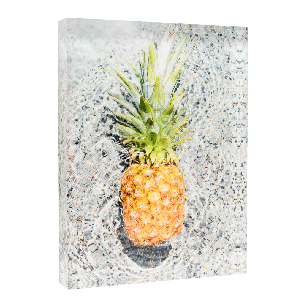 Acrylic Block : Pineapple