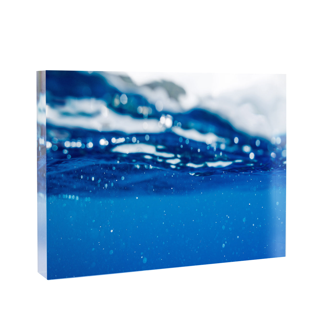Acrylic Block : Hawaiian Blue